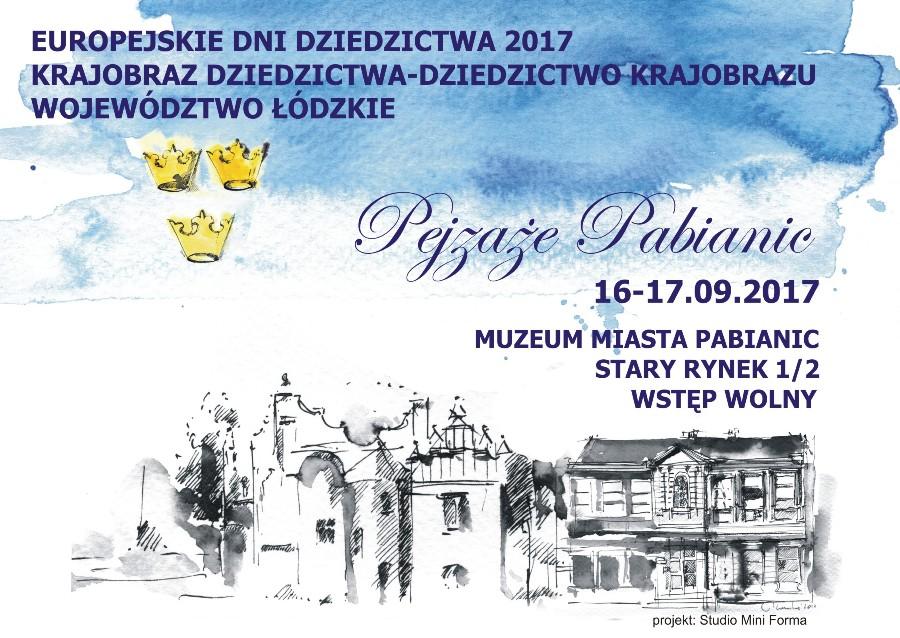 Zapraszamy na Europejskie Dni Dziedzictwa 2017
