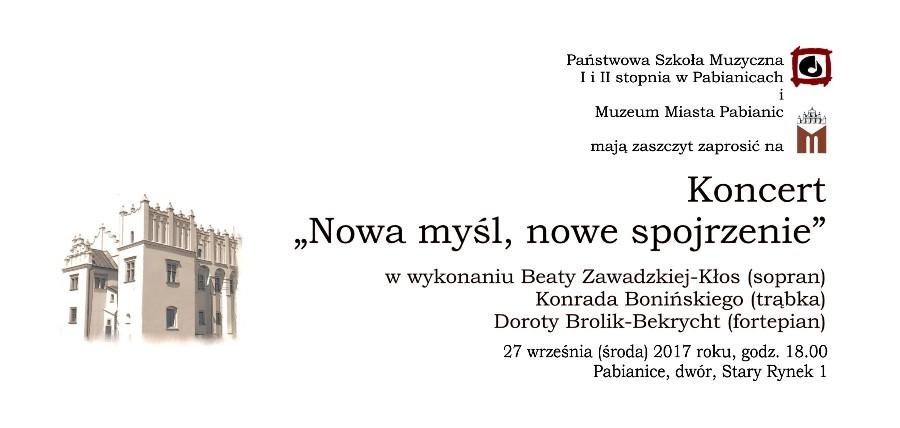 Zapraszamy na DWA koncerty