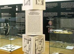 zdjęcie z wystawy czasowej Dźwięki przeszłości
